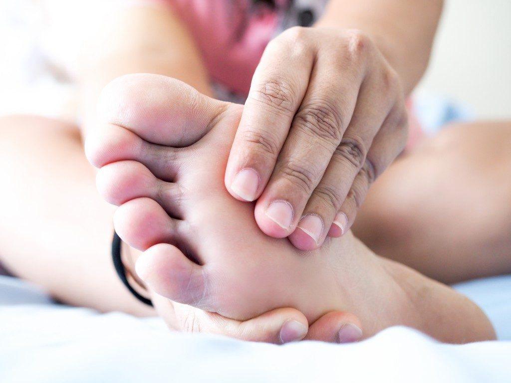 pain in the foot, gout