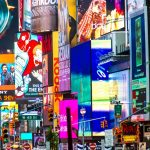 brands and billboards in New York