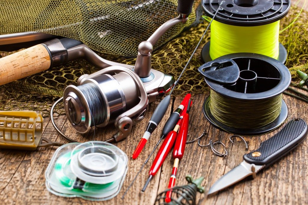 different kinds of fishing gear